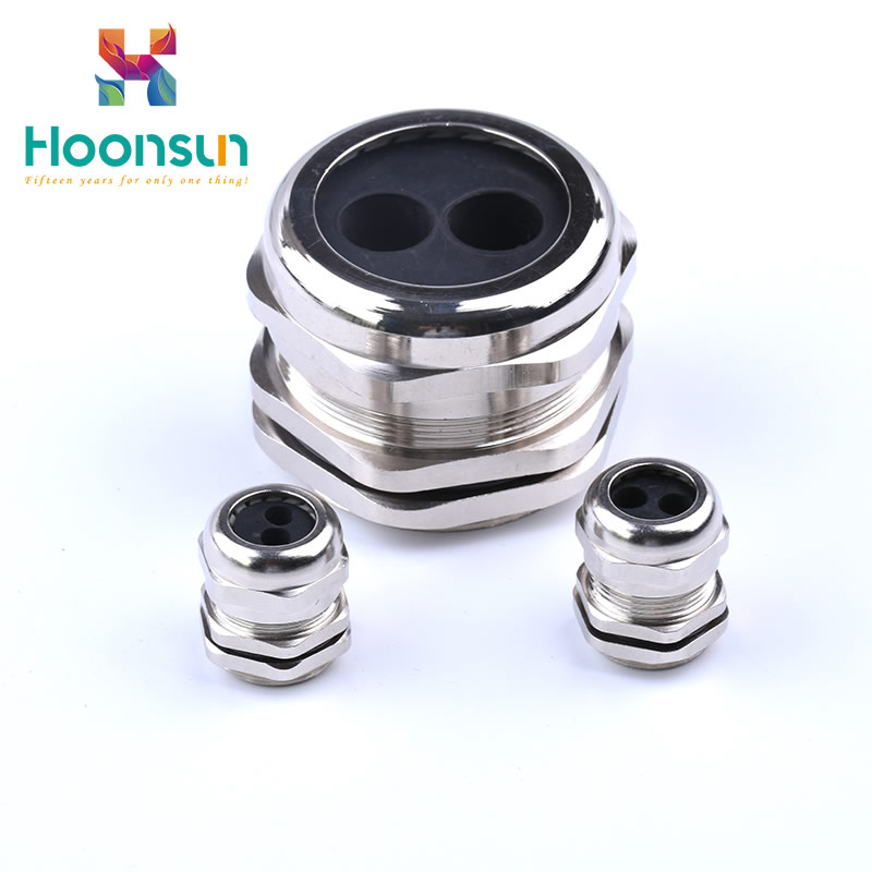 7 holes cable gland ip68 m thread type cable gland hole