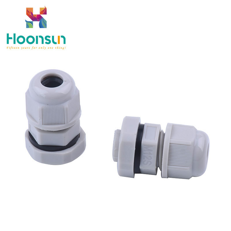 ip68 plastic waterproof nylon cable gland pg size