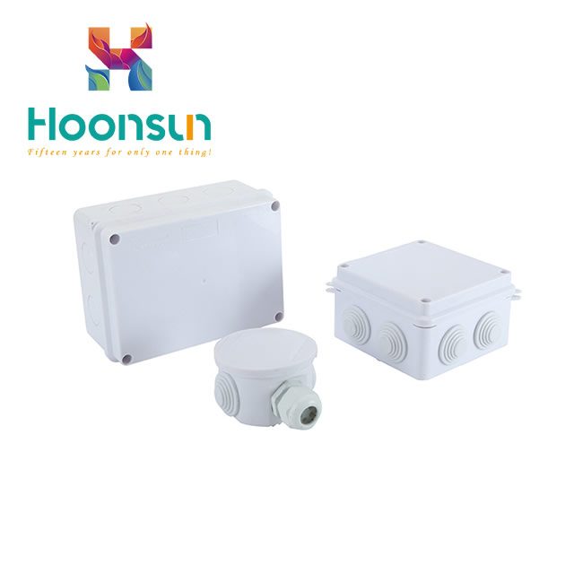 Plastic ABS Enclosure Box IP65 Waterproof Electrical Standard Junction Box Sizes