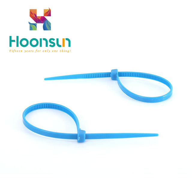 factory supply Yueqing Good Reputation Customized High Quality Nylon Cable Tie With Label