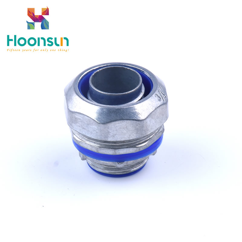 yueqing metal waterproof for nylon pipe Flexible Conduit Connector of cheap low price