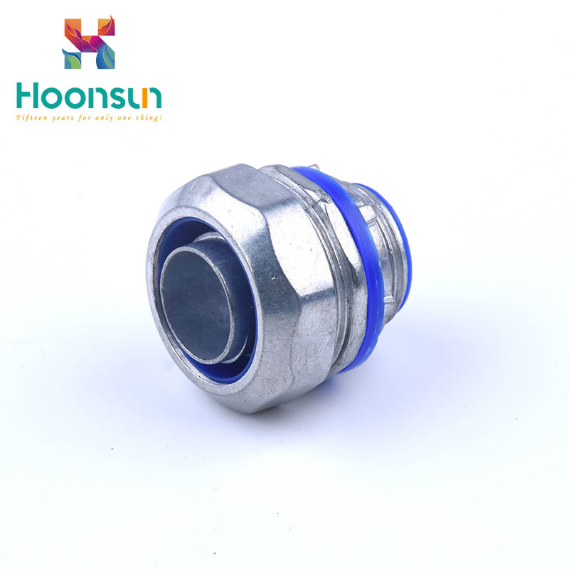free sample yueqing metal waterproof for nylon pipe Flexible Conduit Connector